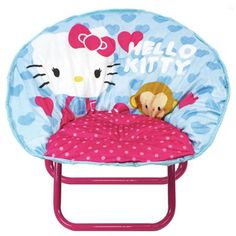 Another great find on Hello Kitty Toddler Saucer Chair by Hello Kitty Toddler Chair, Toddler Toys, Kids Bedroom Sets, Kids Room, Bedroom Ideas, Hello Kitty Bedroom, Hello Kitty Characters, Hello Kitty Birthday, Cute Toddlers