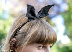 DIY Batwings Headband