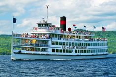 2015 Champagne Brunch Cruise on the Lac du Saint Sacrement : Lake George Steamboat Company Bodega Bay Camping, Camping In Ohio, Summer Vacation Spots, Summer Vacations, Vacation Ideas, Lake George Village, Fun Winter Activities, Adirondack Mountains, Steamboats