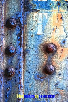 Rust Photography, Rust Art, Urban Decay, Rust Decor, Urban Decor, Industrial Decor by bluerainimages on Etsy