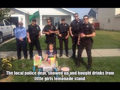 Community policing at its finest!