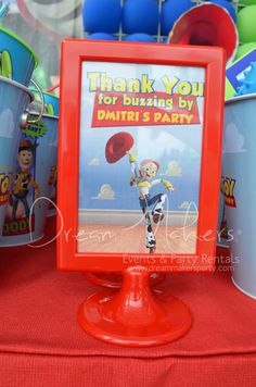 Toy Story Boy Birthday | CatchMyParty.com