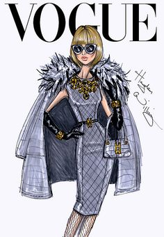 The September Issue: Anna Wintour by Hayden Williams by Fashion_Luva, via Flickr