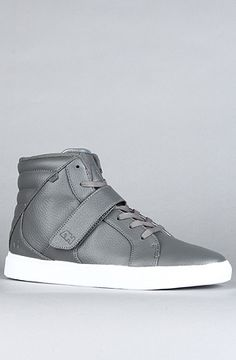 The Designer Mid Sneaker in Grey  AH by Android Homme