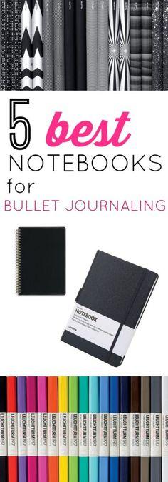 The 5 Best Dot Grid Notebooks for Bullet Journaling