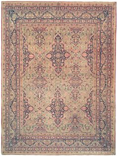 LAVER KIRMAN - Southeast Persian 8ft 10in x 11ft 8in Late 19th Century