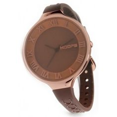£48 Brown Glam Romans Oversized Watch
