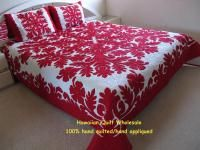 Red hawaiian quilt