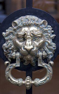 Paris Brass Door by daniel doman, via Flickr