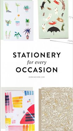 The Best Spring Stationery for Every Occasion
