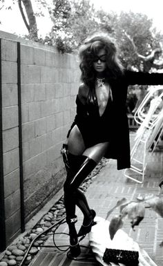 Daria Werbowy by Steven Meisel for VOGUE Italia 2003 | Fashion photography | Editorial