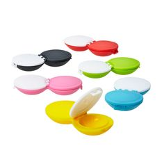colorful contact lens cases!