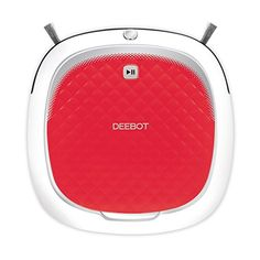 ECOVACS DEEBOT D35 Robotic Vacuum Cleaner - Replace your kitchen broom with a Robot! meet Ecovacs robotics DEEBOT D35, your first floor cleaning Robot. Simple. Effective. Affordable. DEEBOT D35 is easy to operate and maintain, cleans effectively with no-tangle direct suction and has dual Sweeper side brushes for double the cleaning power o...