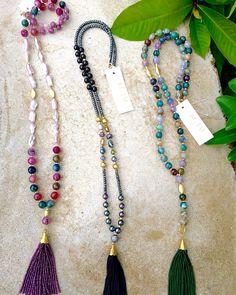Sneak Peek *Tons of New KC JAT Designs* will be up on our etsy shop tonight!! Shop at www.kcjatdesigns.etsy.com #one offline #handmadejewelry #shopsanantonio #diamonds #pearls #gold #tassels #beadednecklaces #boho #chic