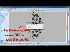 BERNINA Embroidery Software 7: how to create a multihoop design - YouTube