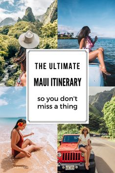 Heading to Maui, Hawaii? Here's the ultimate Maui itinerary, with. Best Picture For vacation usa b Trip To Maui, Hawaii Vacation, Maui Hawaii, Beach Trip, Hawaii Life, Hawaii Travel Guide, Maui Travel, Croatia Travel, Nightlife Travel