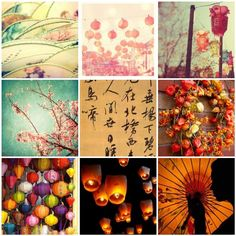 Chinese New Year mood board