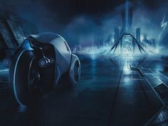The Grid City (Tron Legacy)