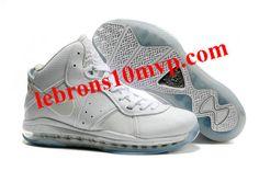 f677dcd3919b Nike LeBron 8(VIII) Shoes V2 All White