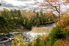 Here's The Ultimate Michigan Waterfall Weekend Itinerary