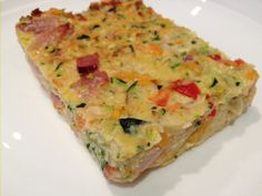 Nicole's Zucchini Slice - Low carb, high protein dish for any time of the day - The HIIT MumThe HIIT Mum
