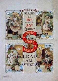 Singer Sewing Machine Ad