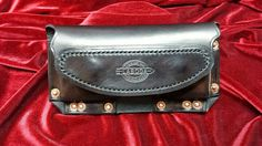 Custom leather phone holster, case