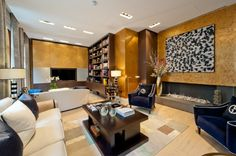 Rich and textured room