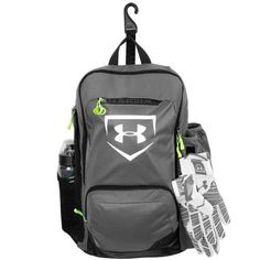 Under Armour gear for baseball is what most players look to first whether it's clothing, batting gloves or baseball backpacks.