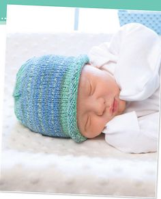 Ravelry: Baby Hat pattern by Karen Whooley  - Buy this book in a bundle: http://www.leisurearts.com/sale/bundles/knook-baby-value-pack.html