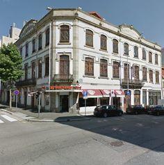 O edifício sede da CSSPP, Porto, Portugal