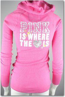 Victorias Secret Pink Thermal Hoodie