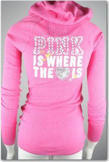 Victorias Secret Pink Thermal Hoodie
