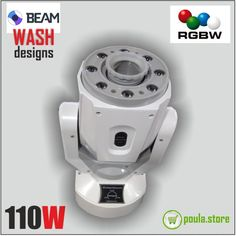 WHITE ROBOT Wash-Beam 110W Disco Lights, Beams, Robot, Online Shopping, Coffee Maker, Home Appliances, Display, Led, Design