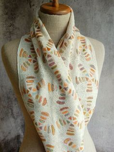 """Zoom"" Scarf - Sophie Digard crochet:"