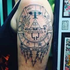 By Ryan Fink @ Empire Tattoo, Asheville, NC. Color to come soon!