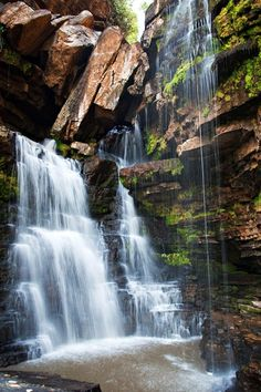 Boti Falls  near Hununya, Eastern Region, Ghana