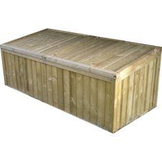Coffre de jardin en bois NATERIAL, 0.13 m³ | Leroy Merlin