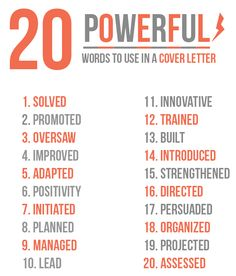 powerful words for job resume - Buzzwords For Resume