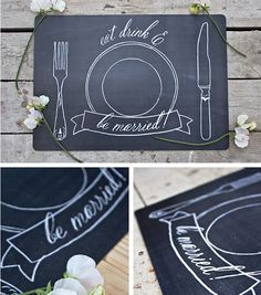 Placemats | 31 Free Wedding Printables Every Bride-To-Be Should Know About