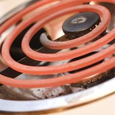 Like gas stoves, electric stove cooktops are susceptible to grime and debris.
