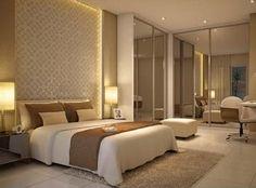 decoração sofisticada - Pesquisa Google Modern Master Bedroom, Master Bedrooms, Inspiration Design, Luxurious Bedrooms, Smart Home, Decoration, Sleep, House Design, Interior Design