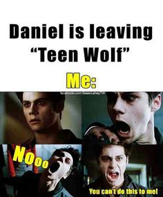But if you watch The Originals on the cw in the fall then you'll get to see Daniel!