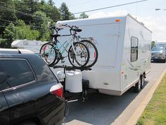 camper racks for back of campers | ... bike rack, a simple mod to the front bracket to hold the rack up