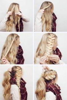 12 Favorite Braid Hair Tutorials If you are tired of the same old hairstyles, you should look through hair tutorials. These collections can offer something new and explain how to do it.}, http_status: Favorite Braid Ha - February 16 2019 at Old Hairstyles, Braided Hairstyles Tutorials, Box Braids Hairstyles, Hair Updo, Hairdos, Braid Hair Tutorials, Easy Braided Hairstyles, Low Pony Hairstyles, Church Hairstyles