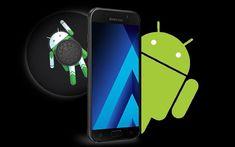 نظام الأندرويد أوريو يصل إلى هاتف Galaxy A7 طبعة 2017