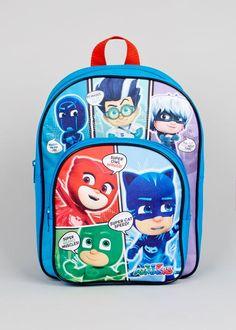 5b3767fdbb Girls   Boys School Bags - Draw String Backs   Backpacks. Kids PJ Masks ...