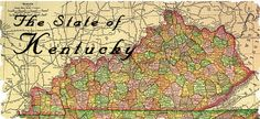 History of County Formations in Kentucky 1776-1939