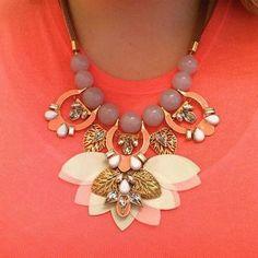 Riveria Coin Statement Necklace | Stella & Dot  #stelladotstyle #jewelry http://www.stelladot.com/Amycarlson