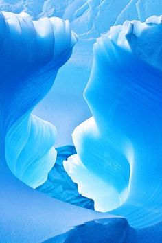 Where ends meet: Blue Ice Cave, Antarctica